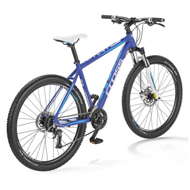"""Велосипед 27,5"""" CROSS GRIP 8 рама 17"""" 2018 синий"""
