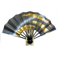 Японский веер «Серебрянный мир»