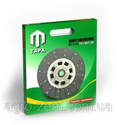 Диск зчеплення МТЗ-80 70-1601130 (дампфер на гумках) ТАРА