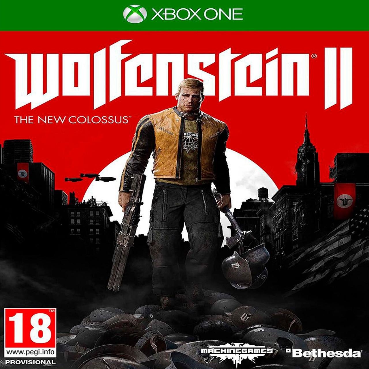 Wolfenstein II The New Colossus (русская версия) XBOX ONE