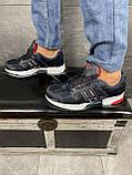 Кроссовки A 1094 -3 (Adidas Climacool) (весна/осень, мужские, текстиль, синий-черный), фото 2