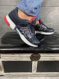 Кроссовки A 1094 -3 (Adidas Climacool) (весна/осень, мужские, текстиль, синий-черный), фото 3