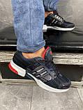 Кроссовки A 1094 -3 (Adidas Climacool) (весна/осень, мужские, текстиль, синий-черный), фото 4