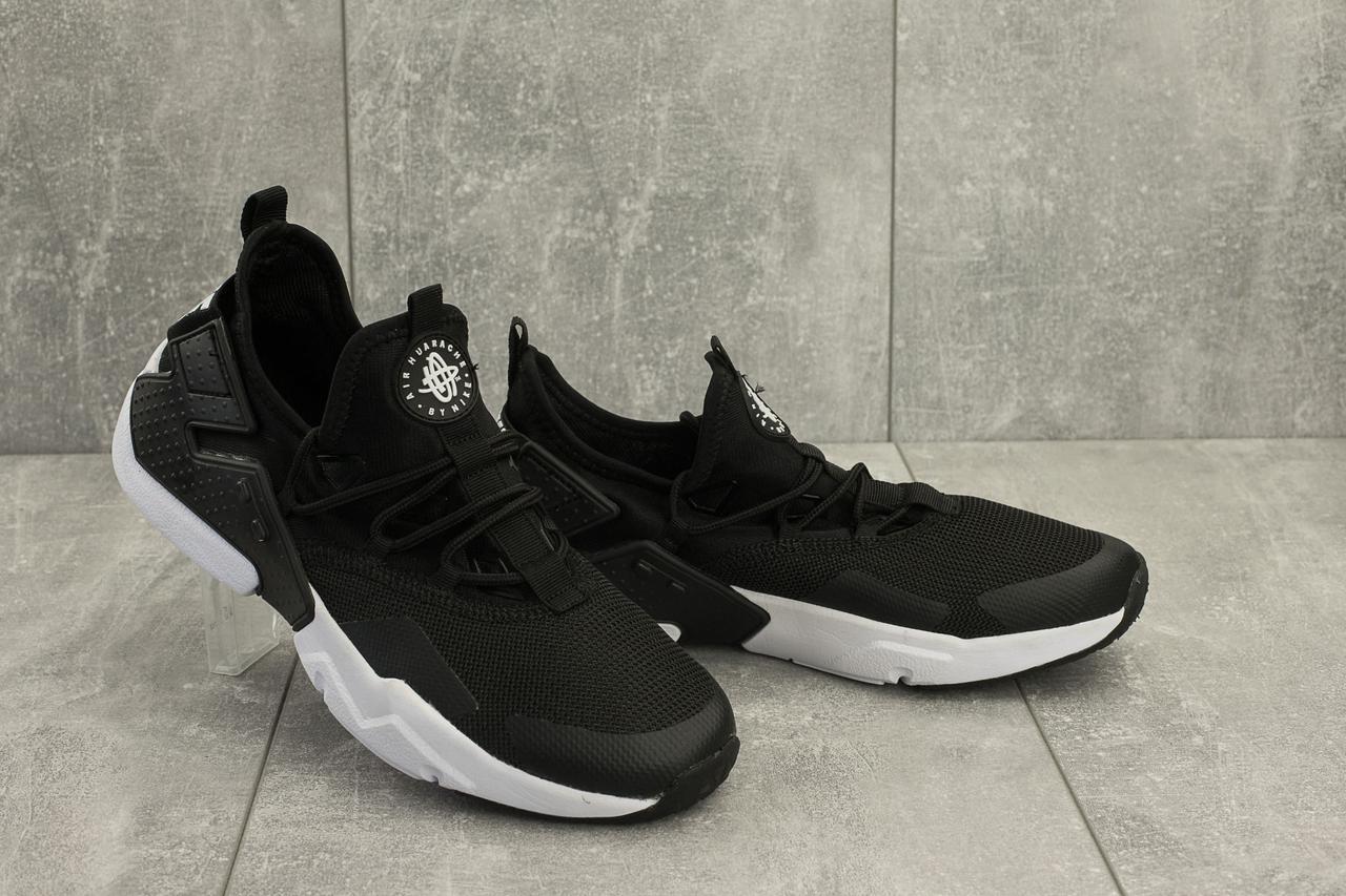 Кроссовки A 5094 -4 (Nike Air Huarache) (весна/осень, мужские, текстиль, черный)