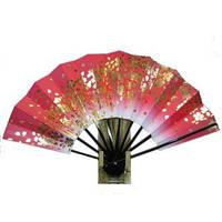 Японский веер «Полет золотой вишни»