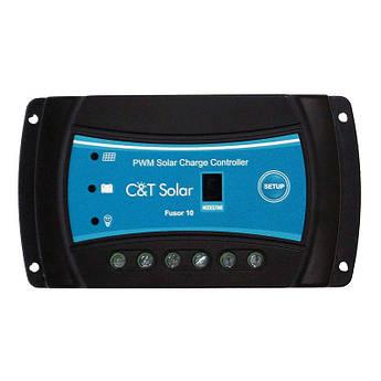 ШІМ-контролер заряду для вуличного освітлення C&T Solar Fusor 1024