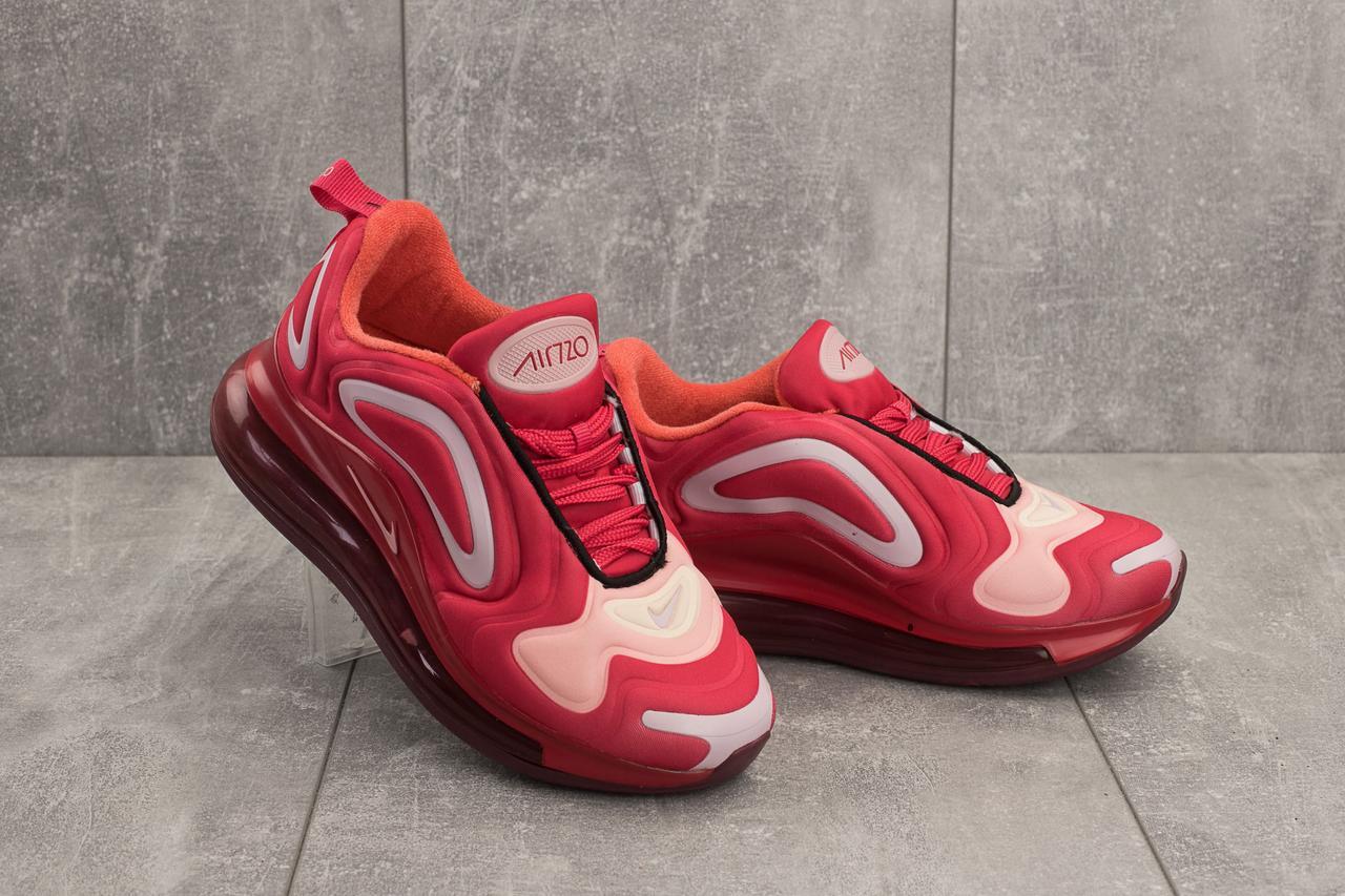 Кроссовки B 1154 -12 (Nike Air Max 720) (весна/осень, женские, текстиль, красный)
