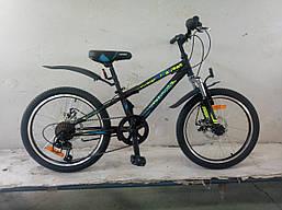 Спортивный детский  велосипед алюминиевый 20 дюймов 10 рама Sky переключатели SHIMANO Crosser