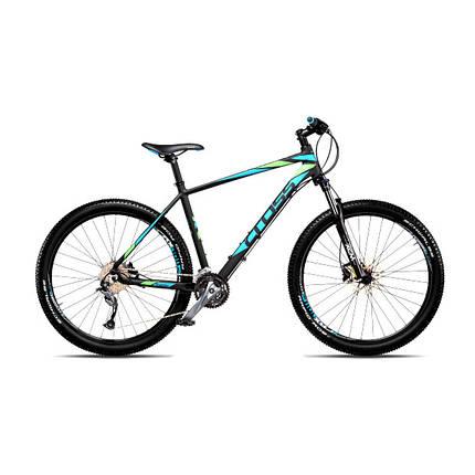 """Велосипед 27,5"""" CROSS FUSION рама 18"""" 2018 черный, фото 2"""