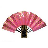 Японский веер «Розовая сакура»