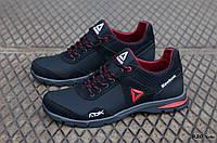 Мужские кожаные кроссовки Reebok ; (Код: R20 ч.к.  ) ►Размеры [40,41,42,43,44,45], фото 1