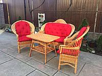 Плетеная мебель из лозы (ЦЕНА УКАЗАНА БЕЗ НАКИДКИ), фото 1