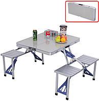 Раскладной стол Туристический складной стол UTM трансформер для пикника на дюралюминиевой основе