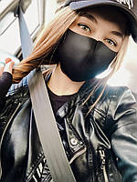 Защитная маска чёрная, фото 1