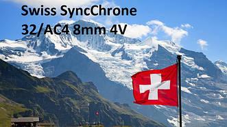 Колекція Swiss SyncChrome 32 КЛАС 8 мм V4