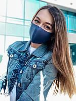 Маска защитная темно синяя (джинсовая), фото 1