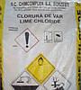 Сухая хлорка (хлорная известь) мешок 25кг