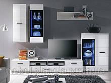 Модульная гостиная в современном стиле АЛЯСКА гостиная брв