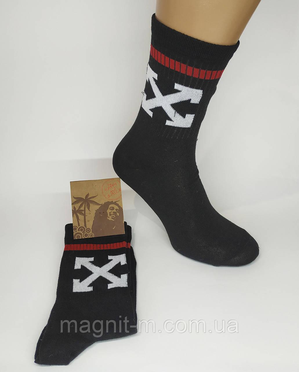 Женские модные высокие носки. Р-р 36-39. Черный цвет. (Розница).