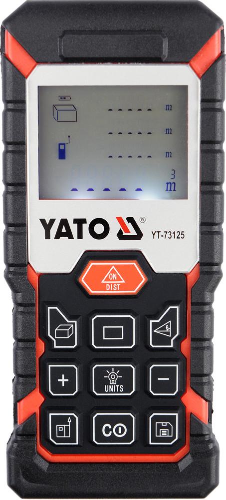 Дальномер лазерный YATO 0.05-40 м 8 режимов