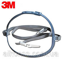 3M 7581 Head Harness Assembly Strap Система кріплення масок 3М 7502 / 7501/7 503 .Оригінал