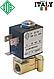"""Электромагн. клапан для воды 1/8"""", НЗ, FKM, -10+140°С, ODE 21JP1RRV23 нормально закрытый, прямого дейстия., фото 2"""