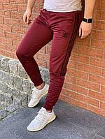 Спортивные штаны Adidas красные. Адидас