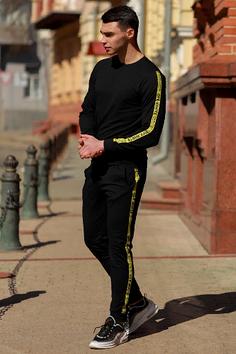 Спортивный костюм off white (ОФФ) Черный (Black)