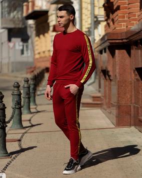 Спортивный костюм off white (ОФФ) красный (Red)