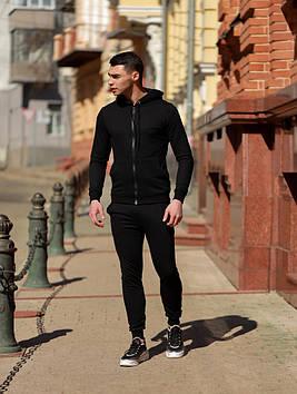 Мужской спортивный костюм черный. Все размеры!
