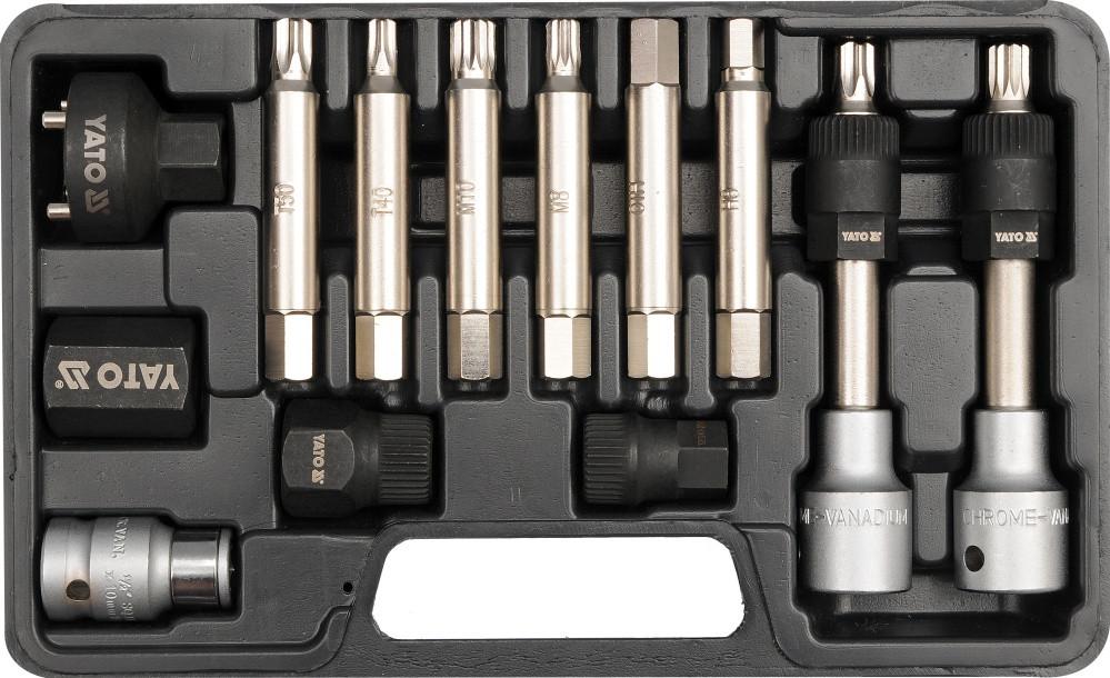 Инструменты для ремонта автомобильных генераторов YATO Набор 13пр. [15]