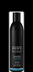 Шампунь очищаючий проти лупи Men's Style для всіх типів волосся 250 мл Profi Style
