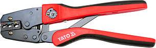 Кліщі для обжиму та зачистки проводів YATO, l=250мм