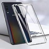 TPU чехол Epic Transparent 1,0mm для Samsung Galaxy A50 (A505F) / A50s / A30s, фото 3