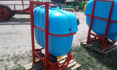 Обприскувач навісний 400 л штанга маятникова 12 м Польша