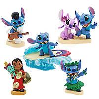 Disney Игровой набор фигурок Лило и Стич, с рисунком, d2008