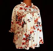Блуза женская Marks Spencer, очень большой размер 24(56\58)