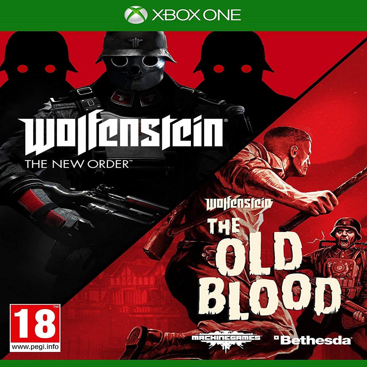 Wolfenstein The New Order/The Old Blood (російська версія) XBOX ONE (Б/В)