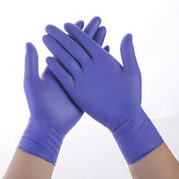 Перчатки нитриловые M