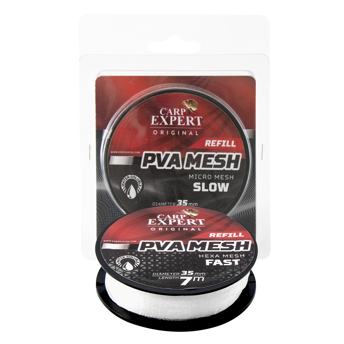 ПВА-сетка 7м 25мм на шпуле Energofish Carp Expert PVA Refill Micro Mesh Slow (30141225)