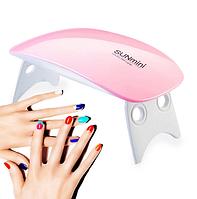 LED/UV Портативная лампа для сушки ногтей SUN Mini 6W