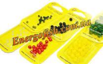 Шарик стопорный Mad Carp 4mm (резина) черный 20шт