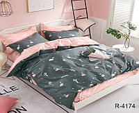 Семейное постельное белье ранфорс R4174 с комп. ТМ TAG