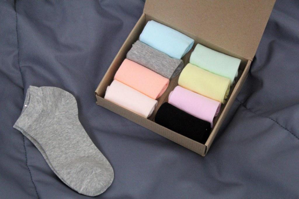 Набор носков №1 - 8 пар в комплекте Арт. 2454