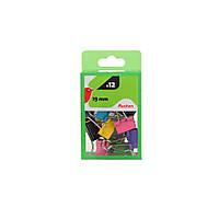 Биндеры цветные Auchan  1 9 см  12 шт.