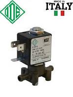 Электромагн. клапан для воды 6 мм, НЗ, FKM, -10+140°С, ODE 21JPPR1V23 нормально закрытый, прямого дейстия.
