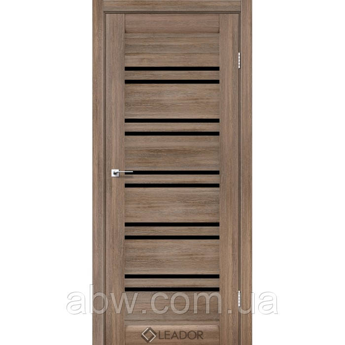 Міжкімнатні двері Leador Sicilia сіре дерево