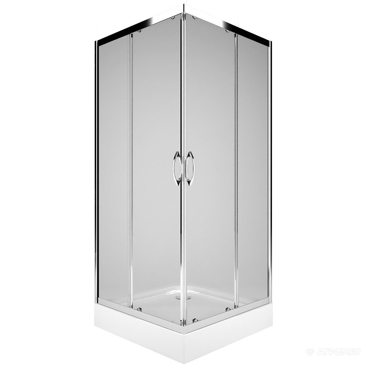 Душова кабіна квадратна, розсувна KOLO PKDK90222003 REKORD / 90 см