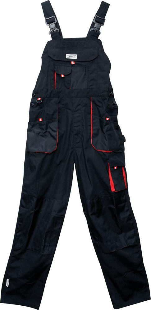 Комбинезон рабочий YATO красно-черный, размер S