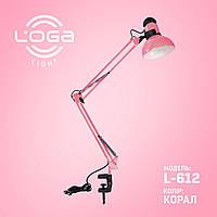 "Настольная лампа на струбцине ""Коралл"".Украина. (ТМ LOGA ® Light)"